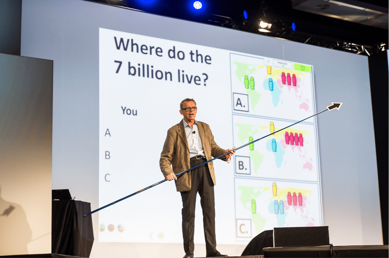 Hans Rosling: Marketing science with edutainment
